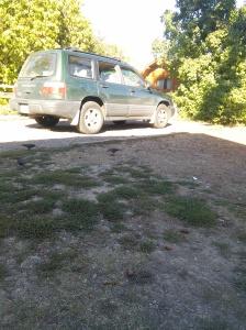 Ah! That cross country dirt!
