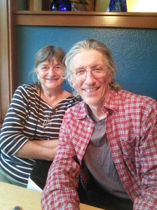 Uncle Tom and Cynthia at the Sand Point Grill