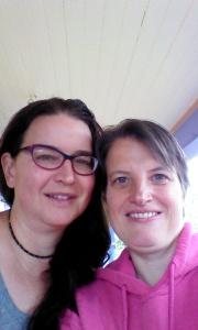 Leah & me