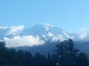 Mount Shasta the next day