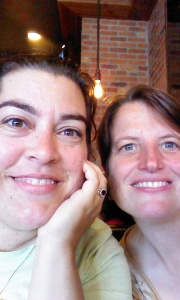 Lynne & me