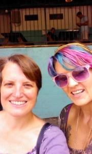 Crystal & me at Franklin BBQ