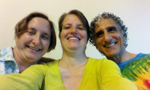 Jeannie, me & Bob