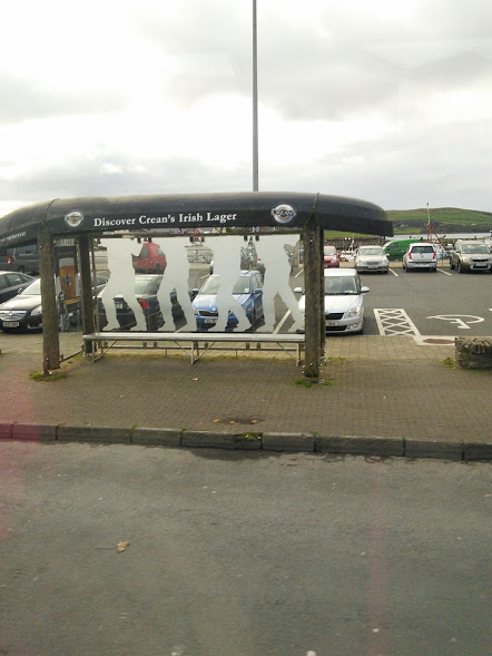 Irish carragh bus shelter